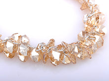 Load image into Gallery viewer, Cluster Honeycomb Swarovski Crystal Element Necklace