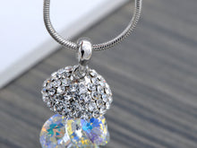 Load image into Gallery viewer, Swarovski Crystal Iridescent Gemss Dangle Pendant Necklace