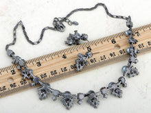 Load image into Gallery viewer, Swarovski Crystal Faux Pearls Necklace Earrings Set