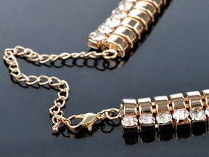 Thick Wrapped Chained Links Necklace
