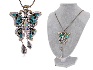 Elements Multicolored Petite Holiday Ss Necklace
