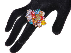 Ring Shimmery Warm Beads