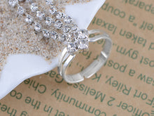 Load image into Gallery viewer, Indian Shooting Star Chain Design Bridal Finger Ring Bracelet