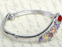 Load image into Gallery viewer, Princess Element Bejeweled Teardrop Bracelet