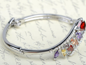Princess Element Bejeweled Teardrop Bracelet