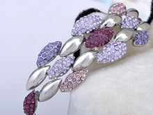 Load image into Gallery viewer, Swarovski Crystal Swarm Insect Petal Berry Element Bracelet Bangle