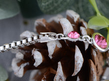 Load image into Gallery viewer, Swarovski Crystal Square Rock Flower Daisy Element Bracelet Bangle
