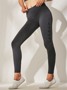 High-Waisted Strappy Yoga Pants