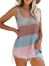 Load image into Gallery viewer, Summer Round Neck Knitted Tank