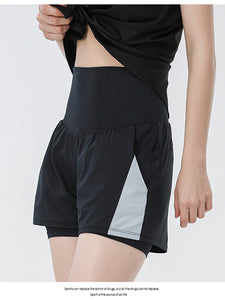 Breathable Casual Fitness Yoga Short Set