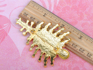 Dazzling Christmas Tree Holiday Jewelry Pin Brooch