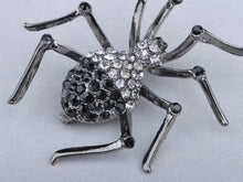 Load image into Gallery viewer, Gun Black Widow Spider Brooch Pin