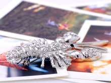 Load image into Gallery viewer, Sea Ocean Lobster Shell Fish Pin Brooch