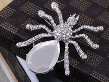 Load image into Gallery viewer, Iridescent Halloween Spider Brooch Pin
