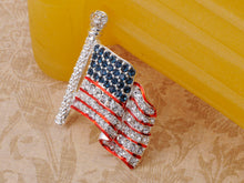 Load image into Gallery viewer, 4th Of July American USA Flag Pin Brooch