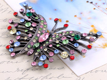 Load image into Gallery viewer, Irresistible Multi Color Butterfly Brooch Pin