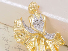 Load image into Gallery viewer, Gold Marilyn Monroe Keepsake Souvenir Pin Brooch
