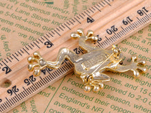 Load image into Gallery viewer, Lime Green Acry Gem Frog Toad Amphibian Pin Brooch
