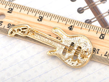 Load image into Gallery viewer, Colored Electric Guitar Brooch Pin