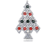 Load image into Gallery viewer, Reproduced Holiday Christmas Tree Pin Brooch