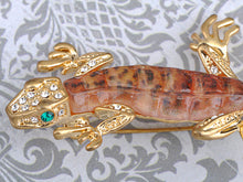 Load image into Gallery viewer, Fun Crawl Gecko Acry Bodied Critter Pin Brooch