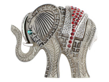 Load image into Gallery viewer, Antique African Indian Elephant Animal Pin Brooch