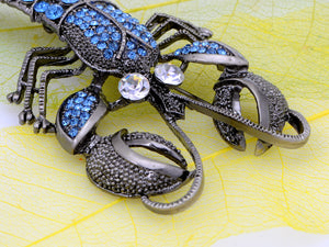 Vintage Repro Lobster Jewelry Pin Brooch