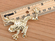 Load image into Gallery viewer, Big Hands Frog Toad Brooch Pin