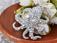 Load image into Gallery viewer, Collectible Sea Animal Creature Octopus Pin Brooch