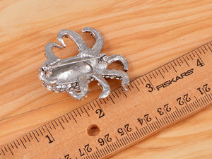 Collectible Sea Animal Creature Octopus Pin Brooch