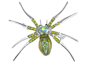 Enamel Spider Jewelry Pin Brooch