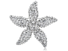 Load image into Gallery viewer, Star Lily Flower Starfish Pin Brooch