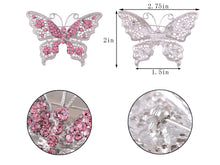 Load image into Gallery viewer, Filigree Butterfly Brooch Pin