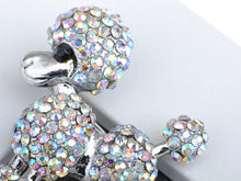 Load image into Gallery viewer, Iridescent Poodle Puppy Show Dog Brooch Pin