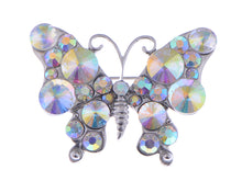 Load image into Gallery viewer, Interesting Petite Wild Colors Aurore Boreale Fly Butterfly Pin Brooch