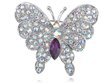 Load image into Gallery viewer, Iridescent Butterfly Insect Brooch Pin