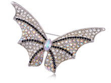 Load image into Gallery viewer, Cool Rhinestone Bat Winged Butterfly Pin Brooch