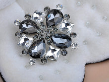 Load image into Gallery viewer, Beautiful Morion Square Circle Teardrop Pin Brooch