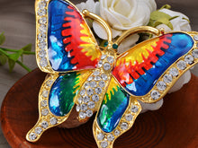 Load image into Gallery viewer, Colorful Butterfly Insect Brooch Pin