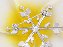 Load image into Gallery viewer, Shine Winter Snowflake Brooch Pin