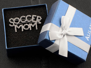 Soccer Mom's Casual Novelty Party Pin Brooch