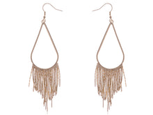 Load image into Gallery viewer, Tribal Teardrop Shape Feather Like Dangling Earrings