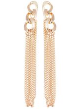 Load image into Gallery viewer, Urban Long Curb Chain Link Dangle Drop Earrings
