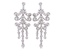 Load image into Gallery viewer, Victorian Gothic Design Chandelier Dangle Drop Earrings