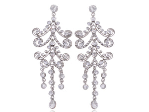 Victorian Gothic Design Chandelier Dangle Drop Earrings