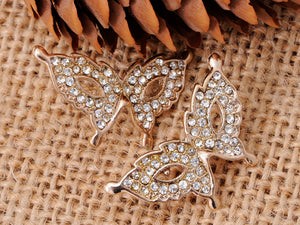 Butterfly Masquerade Party Dance Element Earrings