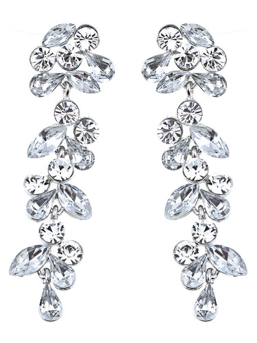Drop Leaf Earrings Wedding Special Occasion Bridal