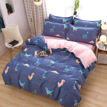 Load image into Gallery viewer, Bed Sheets Set 4 Piece Brushed Microfiber Super Soft Full Queen