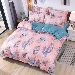 Bed Sheets Set 4 Piece Brushed Microfiber Super Soft Full Queen