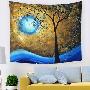 Wall Hanging Print Tapestry